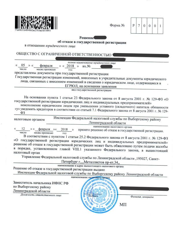 регистрация ип уфа квитанция госпошлина